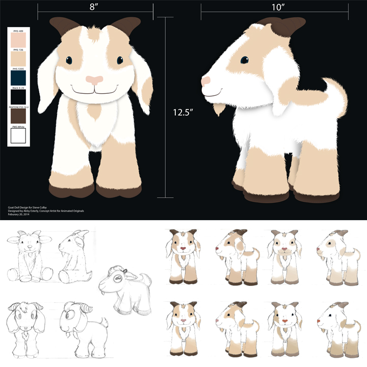 Toy Goat Design