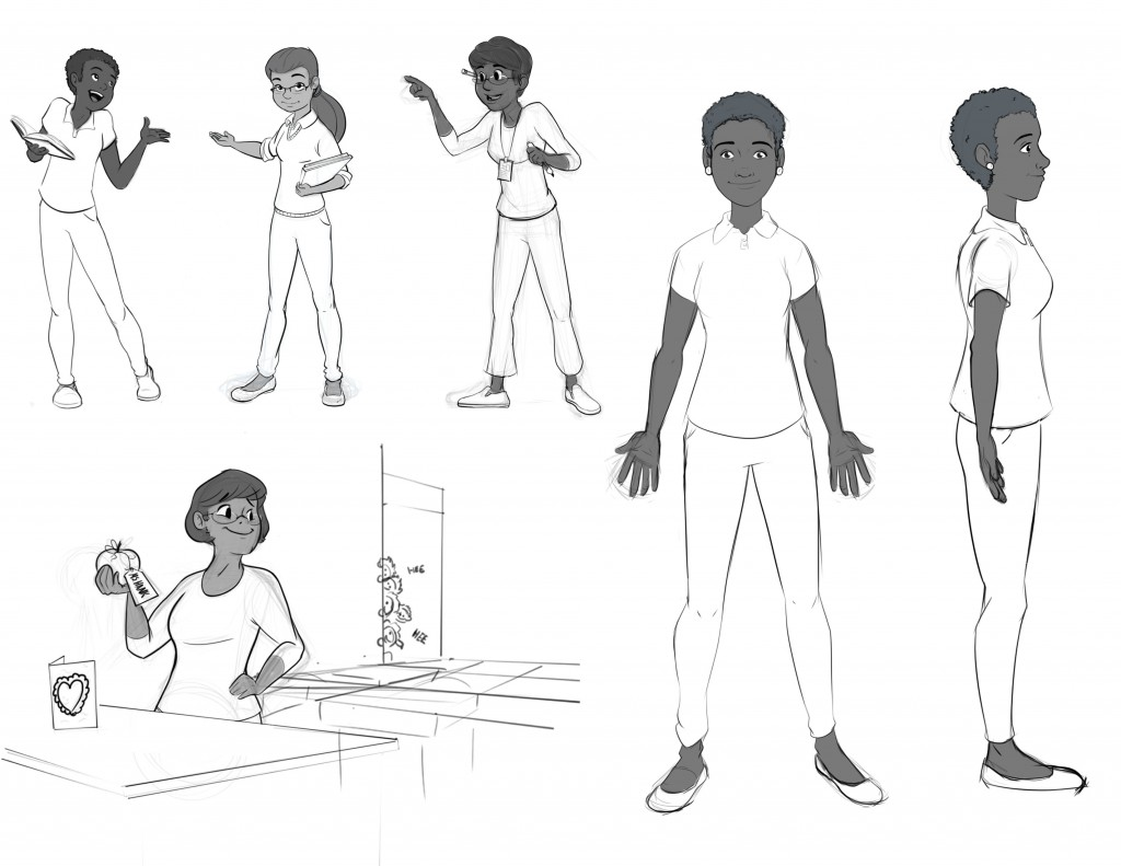 Character Design Teacher