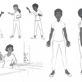 Character Design Teacher