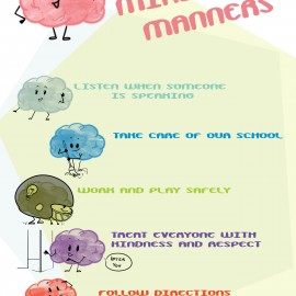Mind Your Manners Poster