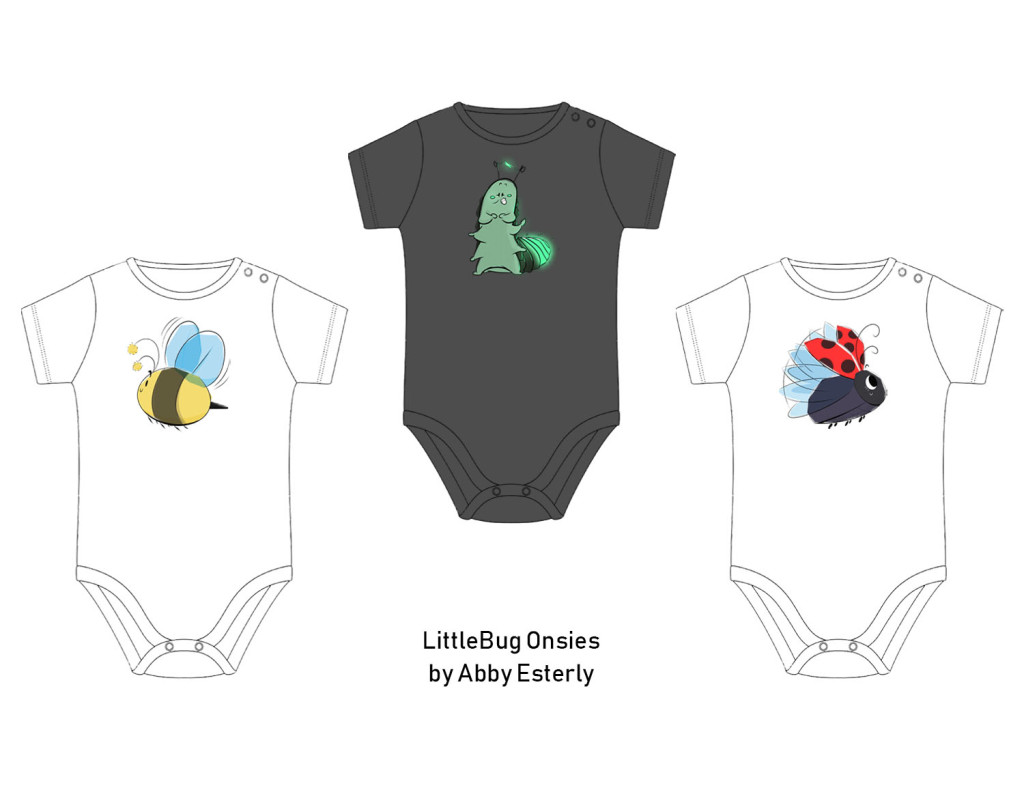 LittleBug Onsies by esterlyartdesigns